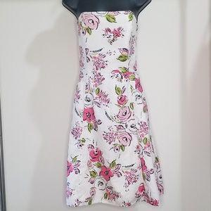 Ann Taylor Loft - strapless dress